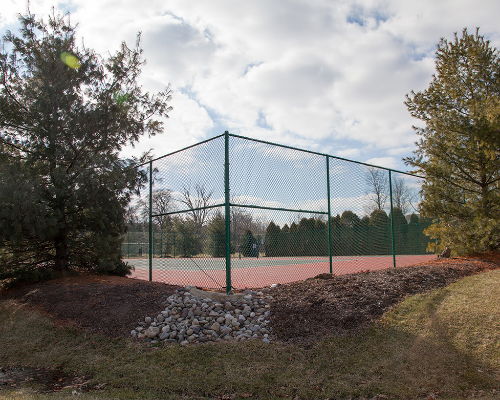 Winter- Tennis Courts