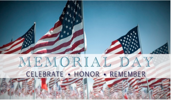 Burlington Property Services Closed for Memorial Day Holiday